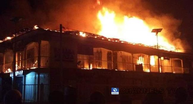 Fire Guts Over 90 Shops In Bauchi Market