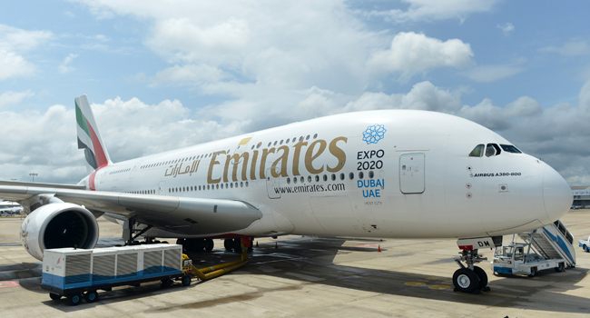FG Lifts Suspension Of Emirates Airlines Operations