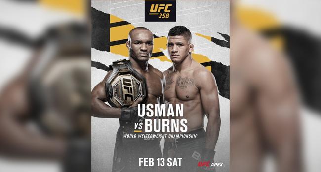 Nigeria's Kamaru Usman Set To Defend UFC Welterweight Title