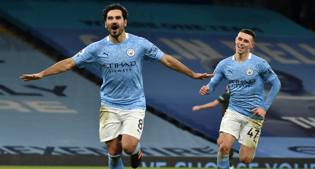 EPL: Man City Thump Spurs To Go Seven Points Clear At Top Of Table