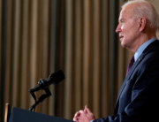 U.S. President Joe Biden delivers remarks on the national economy and the need for his administration's proposed $1.9 trillion coronavirus relief legislation in the State Dining Room at the White House on February 05, 2021 in Washington, DC. Stefani Reynolds-Pool/Getty Images/AFP