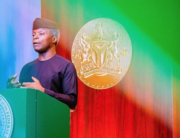 Vice President Yemi Osinbajo delivered a keynote at a CBN event on February 26, 2021.