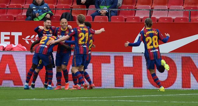 Barcelona Defeat Sevilla To Reignite La Liga Hopes