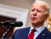 U.S. President Joe Biden addresses the nation about the new coronavirus relief package from the Rosevelt Room of The White House on February 27, 2021 in Washington, DC. Samuel Corum-Pool/Getty Images/AFP