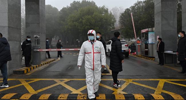 World Health Organization team visits China virus lab in Wuhan
