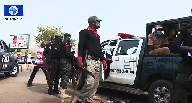 Task Force Shuts Abuja Markets Ignoring COVID-19 Protocols