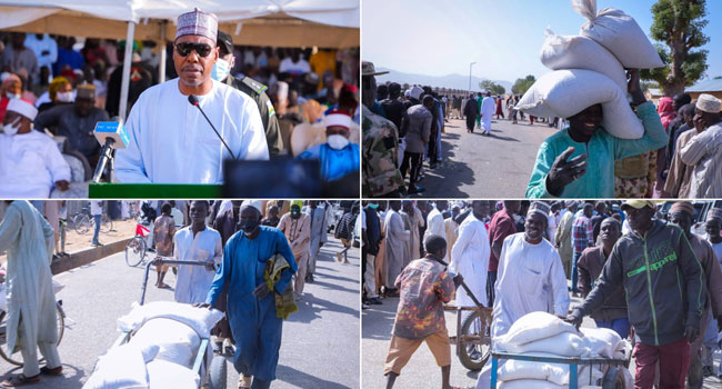 Zulum Shares N150m Grants To Traders, Food For 27,000 Vulnerable Persons