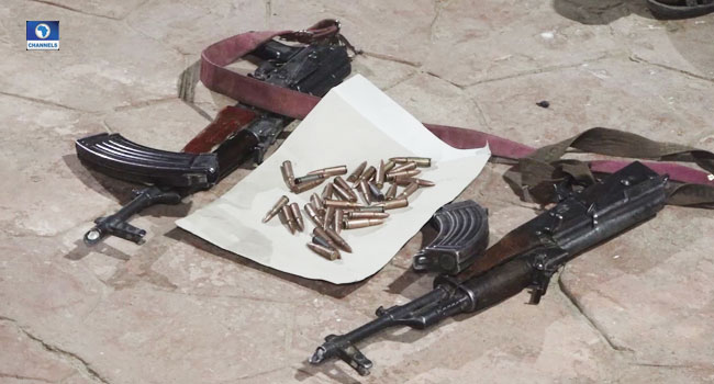 Again, Three Repentant Bandits Surrender Arms In Zamfara