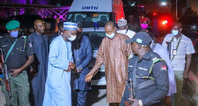 Zulum Visits Victims Following Boko Haram Attack On Borno Communities