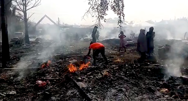 One Killed In Abuja Market Fire
