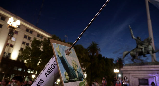 COVID-19: Thousands Protest Over Argentina 'VIP Vaccinations' Scandal