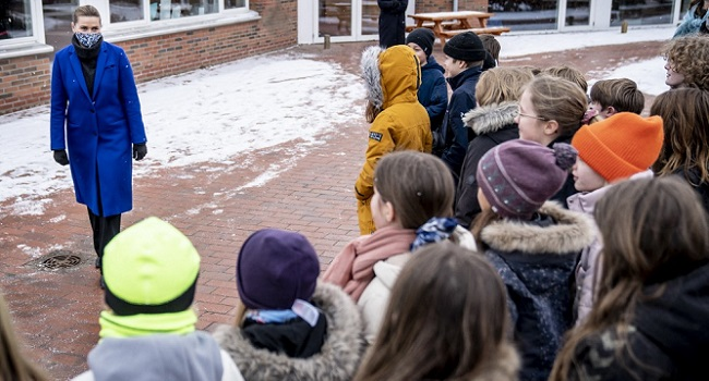 Denmark's Primary School Children Return To Classes