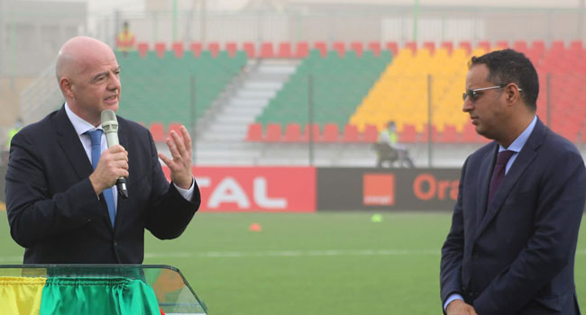 Infantino Kicks-Off Visit To Africa With Stadium Inauguration In Mauritania