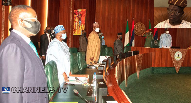 FEC Observes One Minute Silence For Lateef Jakande