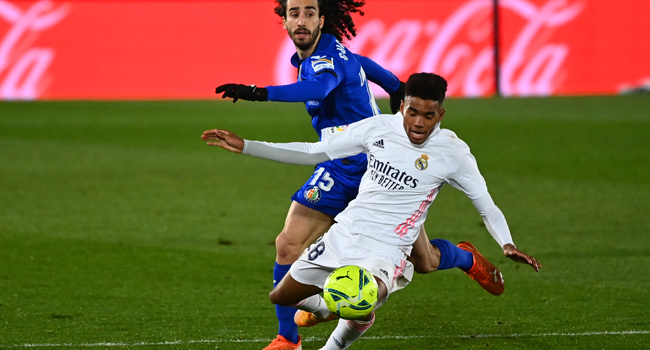 20-Year-Old Nigerian-Born Marvin Park Gets First Real Madrid Start