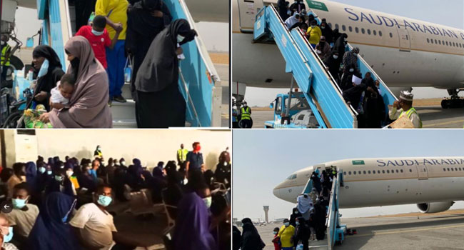 Another 425 Stranded Nigerians Return From Saudi Arabia