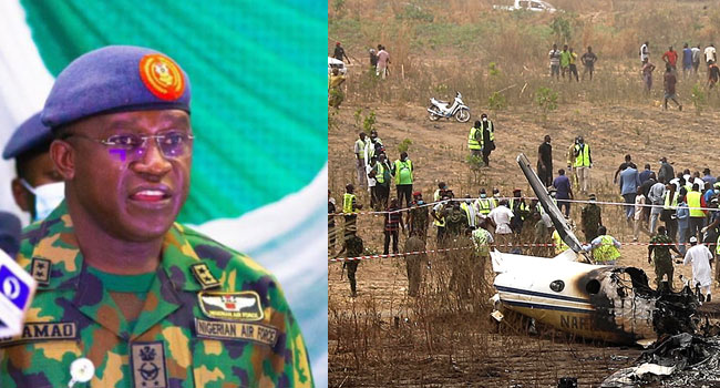 Chief Of Air Staff Orders Investigation Into Military Plane Crash In Abuja