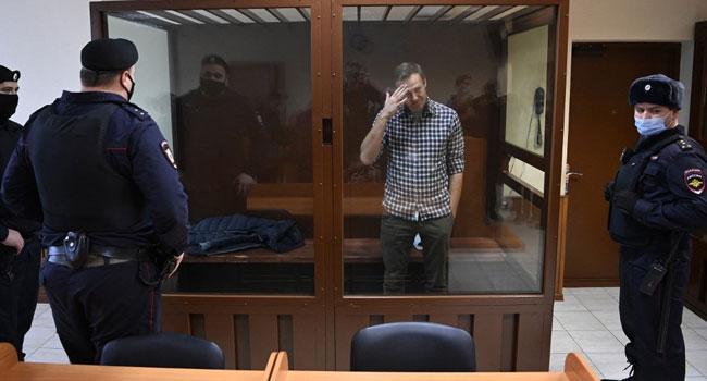 Jailed Kremlin Critic Navalny Announces Hunger Strike