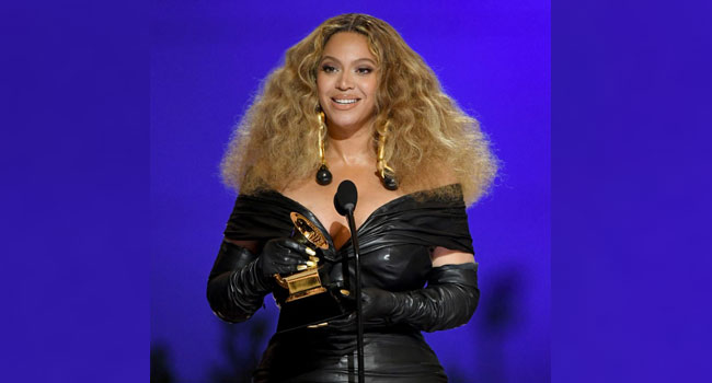 Beyonce Breaks Grammy Record, Becomes Female Artist With Most Wins