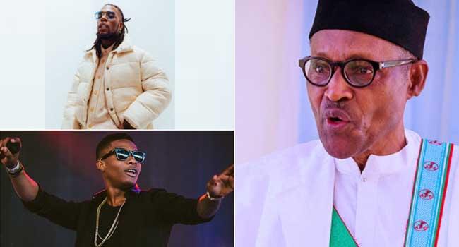 Buhari Congratulates Burna Boy, Wizkid On Grammy Award Wins