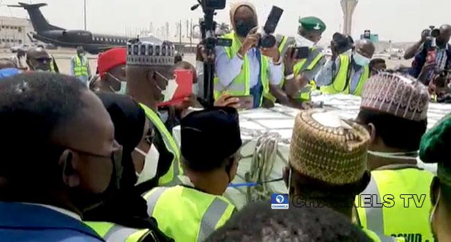 PHOTOS: Nigeria Receives 3.92million COVID-19 Vaccine Doses