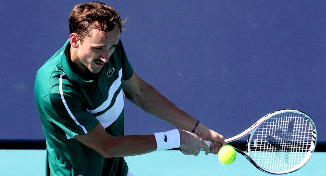 Miami Open: Medvedev, Osaka Advance As Zverev Tumbles Out