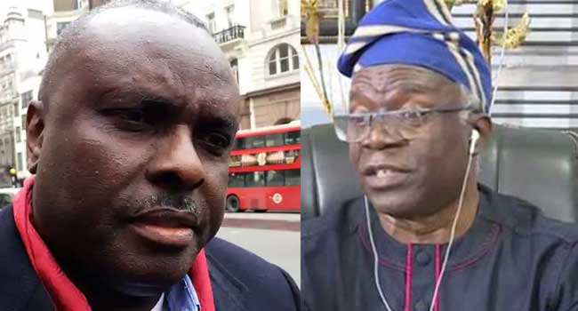Falana Reveals How FG Allegedly Frustrated Ibori's Trial In UK