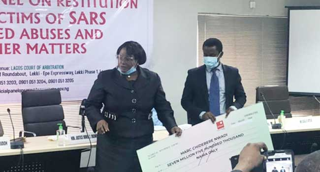 #EndSARS Panel Awards Man Who Spent Six Years In Prison Without Trial