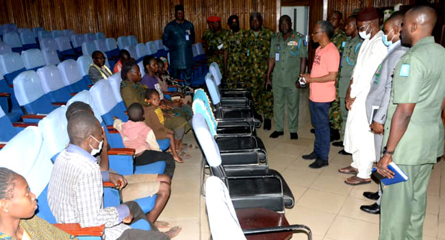 How Troops Rescued 10 Persons From Kidnappers In Kaduna – Army Spokesman