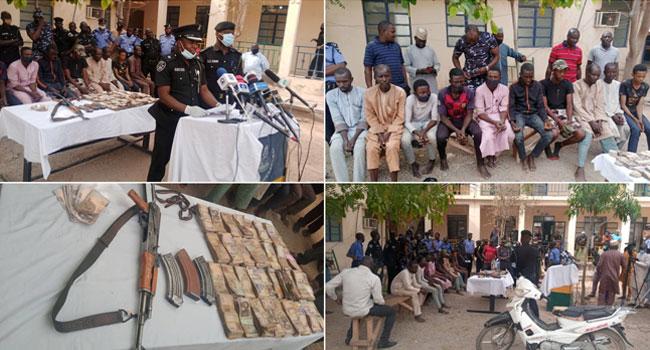 Police Kill Nine Bandits, Arrest 10 Suspected Marauders In Katsina