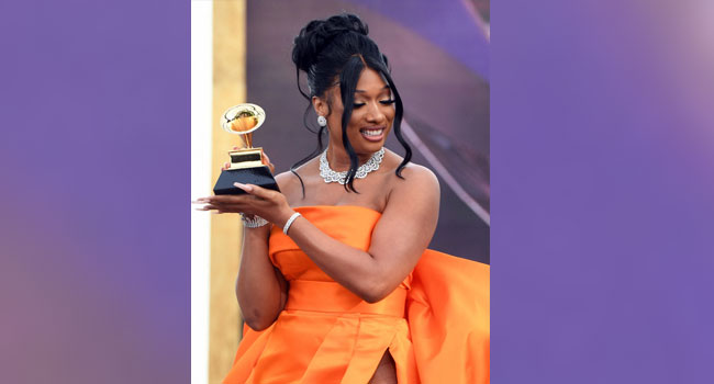 Megan Thee Stallion Wins Big As Pandemic Grammys Kick-Off
