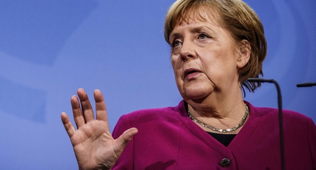 Merkel Distances Herself From Would-Be Successor