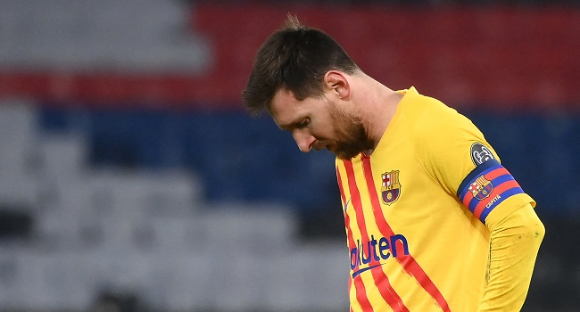 Messi Misses Penalty As Barcelona Fail In Latest PSG Comeback Attempt
