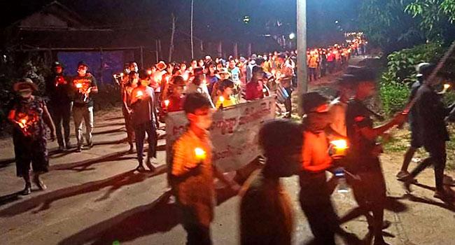 Myanmar Crackdown Death Toll Passes 500