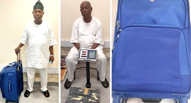NDLEA Arrests 'Notorious Drug Trafficker', Recovers Cocaine Hidden In Monarch's Palace