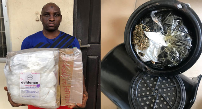 NDLEA Intercepts Parcels Of Cocaine, Heroin Packaged For UK, Ireland, Australia