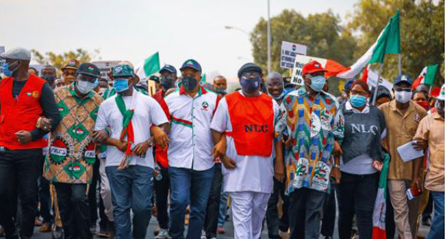Minimum Wage: NLC Stages Nationwide Protest