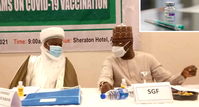 NSCIA Will Not Force Anyone To Take AstraZeneca Vaccine, Says Sultan