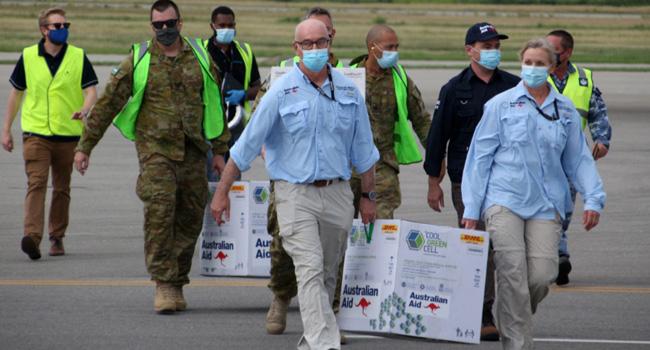 COVID-19: First Vaccines Arrive In Papua New Guinea