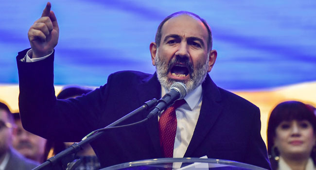 Armenia PM Pashinyan To Resign Ahead Of Parliamentary Elections