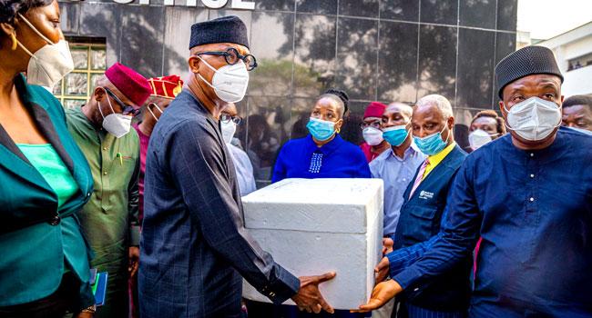 Ogun Govt Receives 50,000 Doses Of AstraZeneca Vaccine