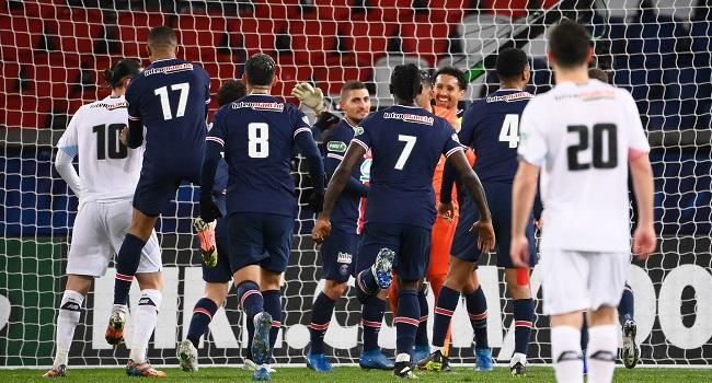 Paris Saint-Germain Beat Lille To Reach French Cup Quarters