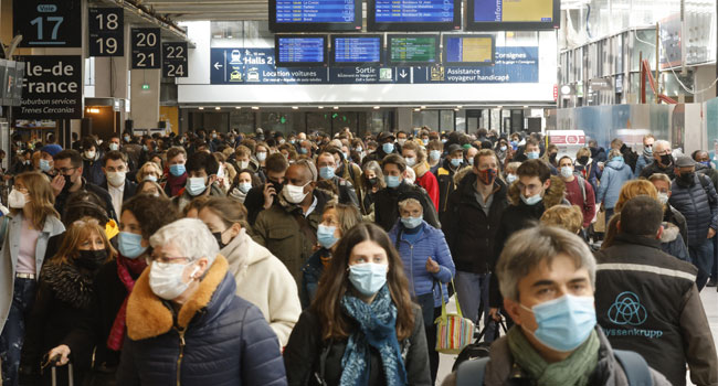 Paris Residents Flee As New COVID-19 Lockdown Looms