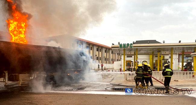 Petrol Tanker Explodes In Ogun Community