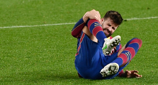Pique Suffers Knee Injury, Doubtful For PSG Clash