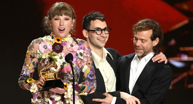 Taylor Swift's 'Folklore' Wins Grammy For Album Of The Year