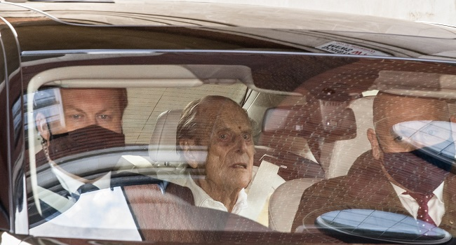 Prince Philip Leaves Hospital After A Month