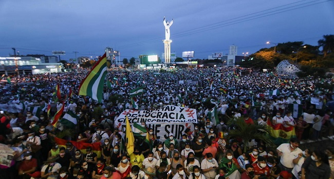 Mass Protests In Bolivia Over Ex-President's Arrest