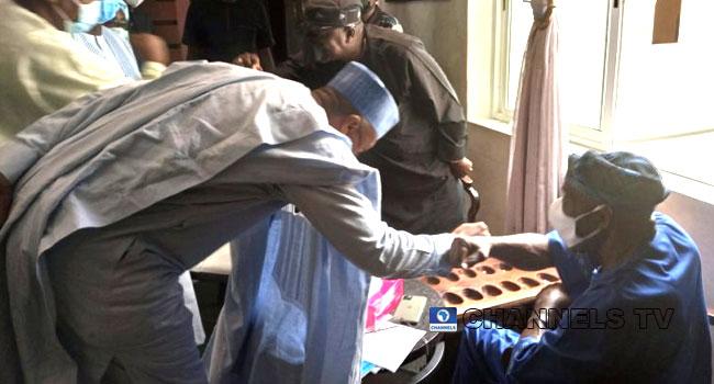 Saraki Leads PDP Chieftains To Meet With Obasanjo In Abeokuta