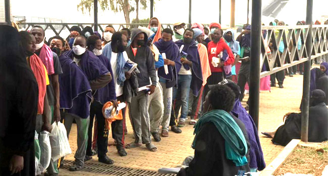 Another 255 Stranded Nigerians Return From Saudi Arabia